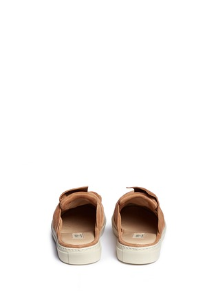 Back View - Click To Enlarge - Ports 1961 - Twist bow suede sneaker slides