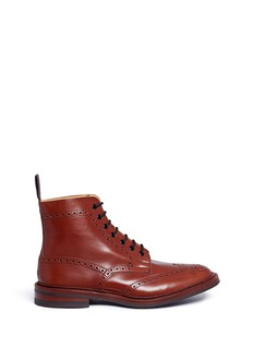 Tricker's Stow' brogue leather boots