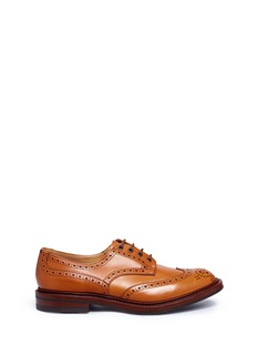 Tricker's 'Bourton' brogue leather Derbies