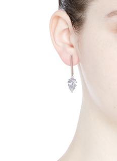 Eddie Borgo'Glint' cubic zirconia drop earrings