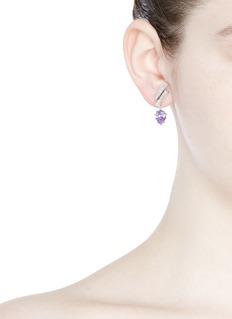 Eddie Borgo'Estate Pop Ear Climbers' glass crystal drop earrings