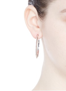Eddie Borgo'Peaked Hoop 1.5' earrings