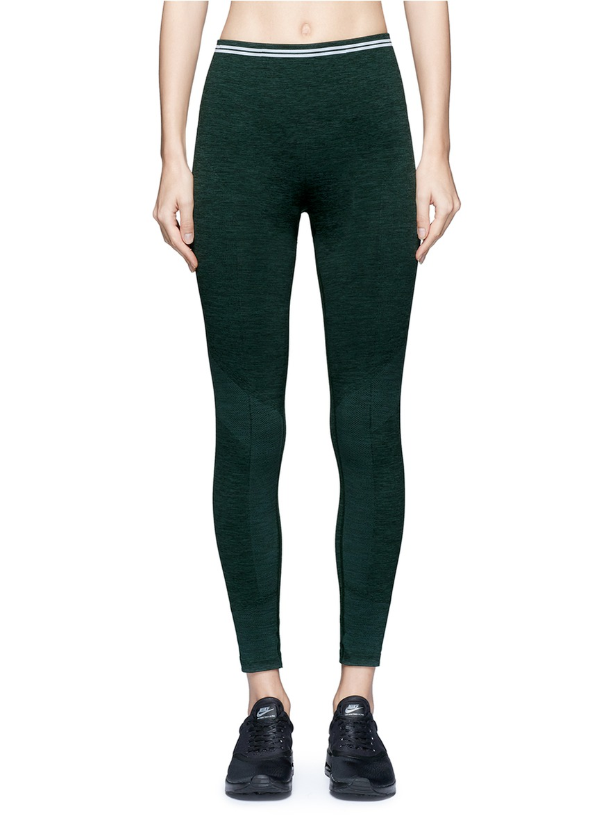 Seven Eight circular knit performance leggings by Lndr