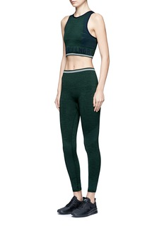 Lndr''Seven Eight' circular knit performance leggings
