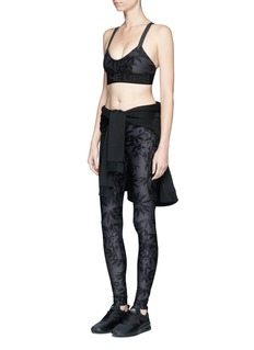 The Upside 'Bamboo Speechless' print performance leggings