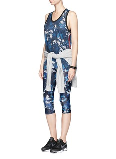 The Upside 'Power' cherry blossom print performance leggings