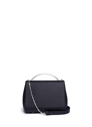 Main View - Click To Enlarge - Eddie Borgo - 'Dean Mini Doctor' leather chain bag