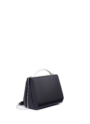 Figure View - Click To Enlarge - Eddie Borgo - 'Dean Mini Doctor' leather chain bag