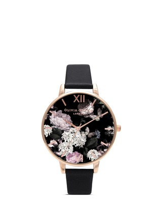 Main View - Click To Enlarge - Olivia Burton  - 'Winter Garden' floral print Big Dial watch