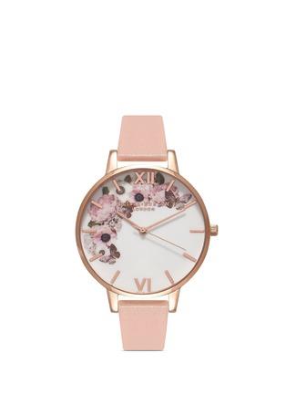 Main View - Click To Enlarge - Olivia Burton  - 'Enchanted Garden' floral print Big Dial watch