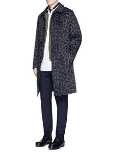 3.1 Phillip LimLeopard print cotton-wool blend coat