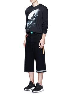 Christopher Kane'Car Crash' print cotton sweatshirt