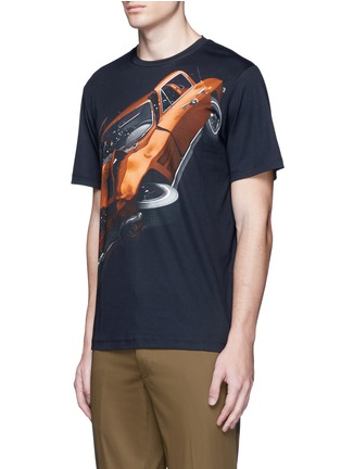 Front View - Click To Enlarge - Christopher Kane - 'Car Crash' print cotton T-shirt