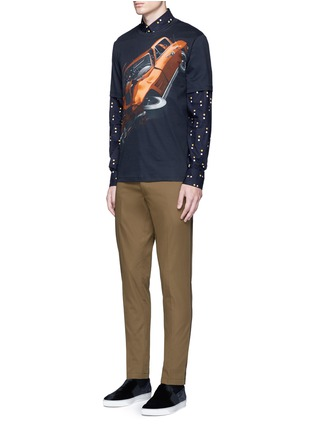 Figure View - Click To Enlarge - Christopher Kane - 'Car Crash' print cotton T-shirt