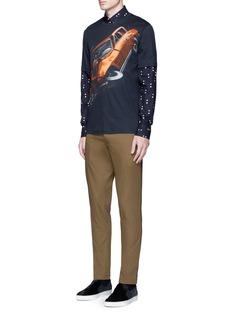 Christopher Kane'Car Crash' print cotton T-shirt