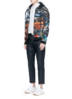 Christopher Kane Reflective pocket trim pants