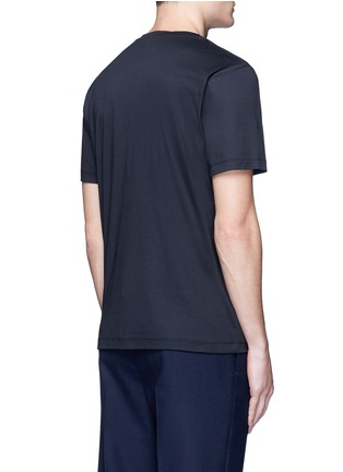 Back View - Click To Enlarge - Christopher Kane - 'Car Crash' print cotton T-shirt