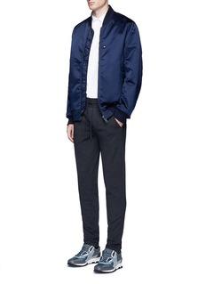 Christopher KaneZigzag front placket cotton shirt