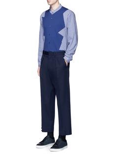 Christopher KanePatchwork cotton shirt