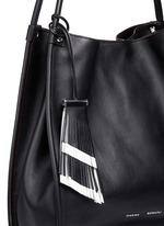 Medium calfskin leather tote