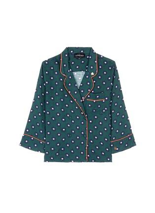 Main View - Click To Enlarge - Love Stories - 'Donald T' scarab print pyjama shirt