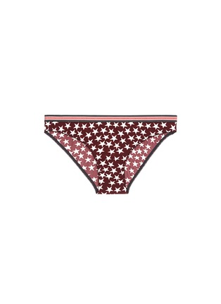 Main View - Click To Enlarge - Love Stories - 'Firecracker' stars and stripes print briefs