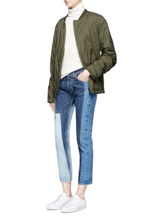 FACETASMColourblock skinny jeans