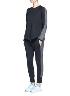 The Upside'Skye' panelled drawstring track pants