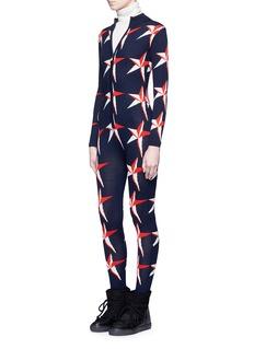 Perfect Moment'Star II' intarsia Merino wool knit jumpsuit