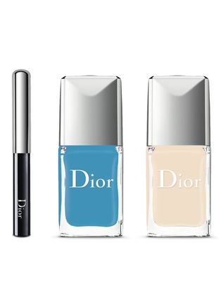 Main View - Click To Enlarge - Dior Beauty - Dior Vernis Duo & Dotting Tool - 001 Pastilles