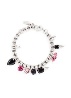 Joomi Lim'Organized Chaos' spike stud crystal chain bracelet