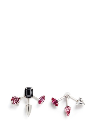 Main View - Click To Enlarge - Joomi Lim - 'Love Thorn' crystal spike stud earrings