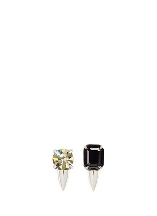 Main View - Click To Enlarge - Joomi Lim - 'Organized Chaos' crystal stud earrings