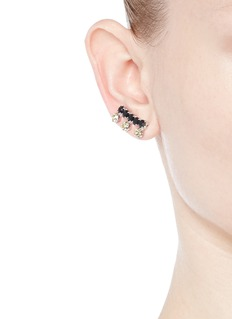 Joomi Lim 'Organized Chaos' crystal stud earrings