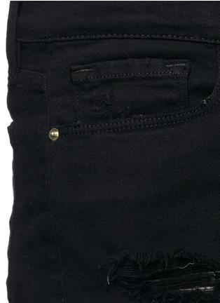 Frame Denim-'Le Cut Off' distressed denim shorts