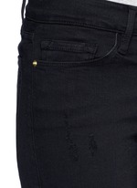 'Le Skinny De Jeanne' distressed cropped jeans