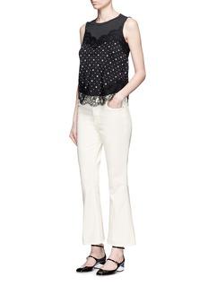 FRAME DENIMx Inez & Vinoodh 'Inez' flared jeans