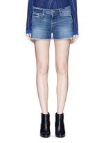 'Le Cut Off' frayed denim shorts