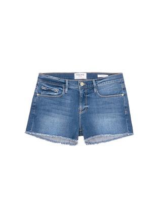 Frame Denim-'Le Cut Off' frayed denim shorts