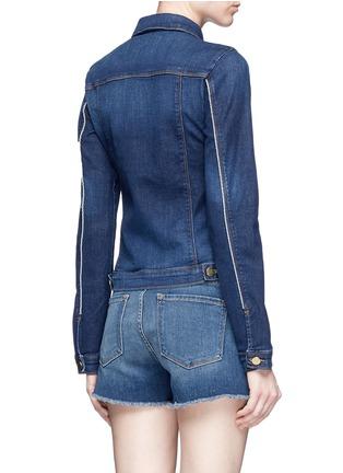 Back View - Click To Enlarge - Frame Denim - 'Le Jacket' cotton blend denim jacket
