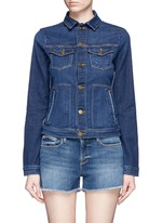 'Le Jacket' cotton blend denim jacket