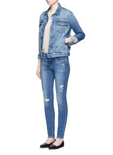 Frame Denim'Le Skinny de Jeanne' distressed jeans