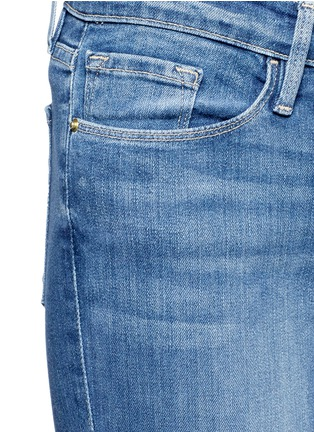 Detail View - Click To Enlarge - Frame Denim - 'Le Skinny De Jeanne' cropped jeans