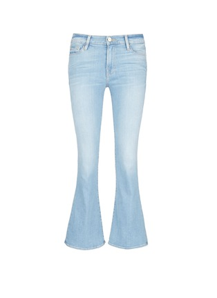 Main View - Click To Enlarge - Frame Denim - x Inez & Vinoodh 'Inez' whiskered flared jeans