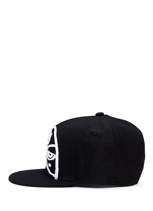 Figure View - Click To Enlarge - Haculla - 'Minds Eye' embroidery appliqué snapback cap