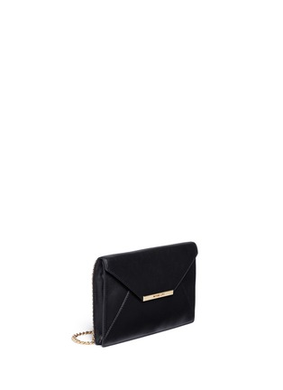 Front View - Click To Enlarge - Michael Kors - 'Lana' envelope leather clutch