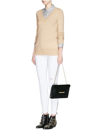 Figure View - Click To Enlarge - Michael Kors - 'Lana' envelope leather clutch