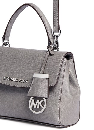 Detail View - Click To Enlarge - Michael Kors - 'Ava' petite saffiano leather crossbody bag