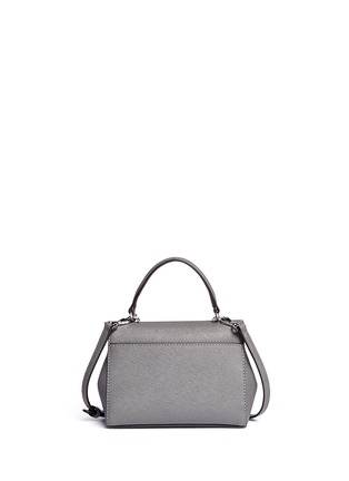 Back View - Click To Enlarge - Michael Kors - 'Ava' petite saffiano leather crossbody bag