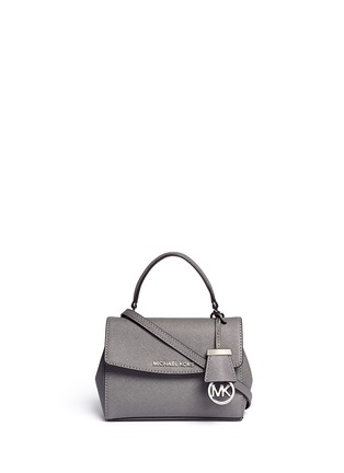 Main View - Click To Enlarge - Michael Kors - 'Ava' petite saffiano leather crossbody bag